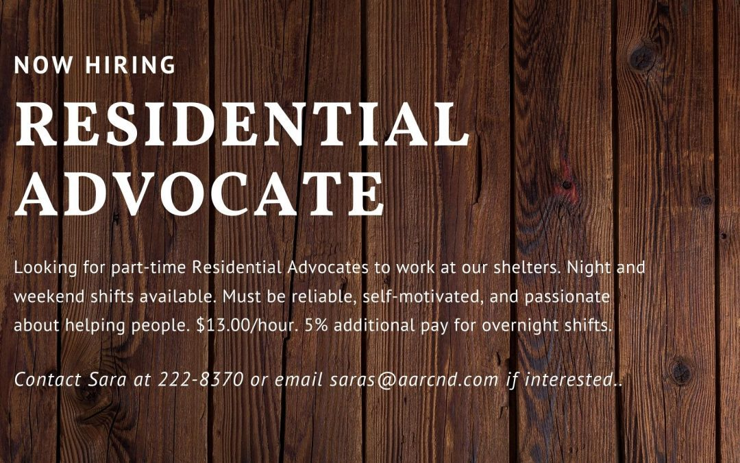 Residential Advocate